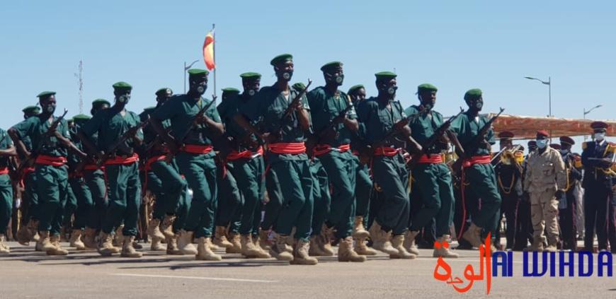 N'Djamena : défilé militaire à la Place de la nation pour la fête du 1er décembre