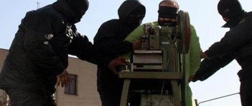 Iran : une machine pour amputer les voleurs. publiée par Iranian student's new agency
