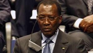 Idriss Déby lors d'une conférence. Crédits photos : Sources