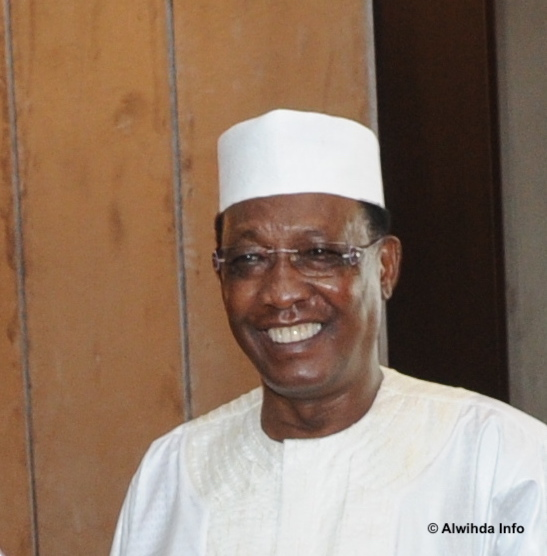 Le président du Tchad Idriss Deby. © Alwihda Info
