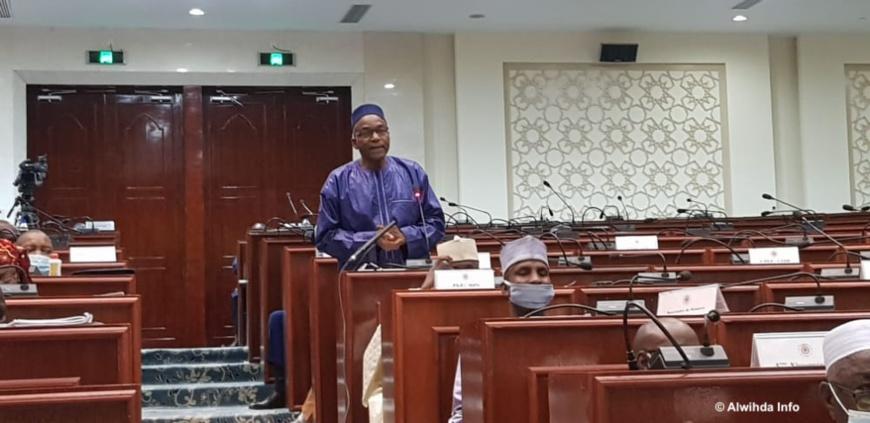 Le député Saleh Kebzabo. © Ben Kadabio/Alwihda Info