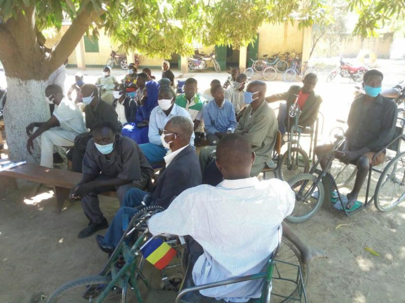 Tchad : les personnes handicapées souhaitent plus de soutien dans leurs défis quotidiens