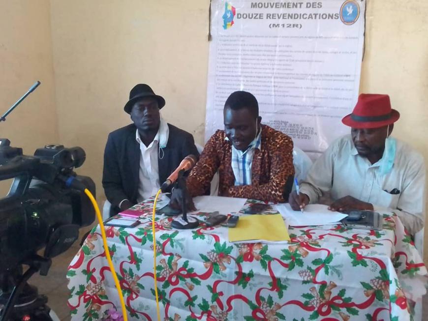 """Tchad : le M12R qualifie l'adoption de la Loi constitutionnelle de """"grand recul en arrière"""". ©Aristide Djimalde/Alwihda Info"""