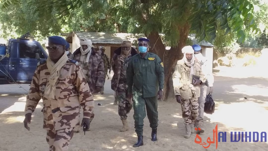 Tchad : le directeur général de la gendarmerie en mission d'inspection au Batha