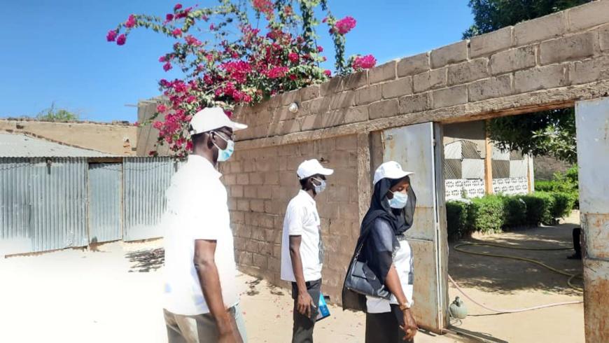 Tchad : les relais communautaires à l'action à N'Djamena contre le paludisme
