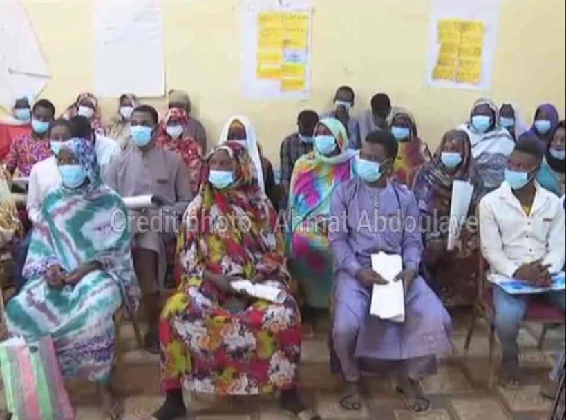 Tchad : une association féminine intervient contre la COVID-19 par la sensibilisation à Am-Timan