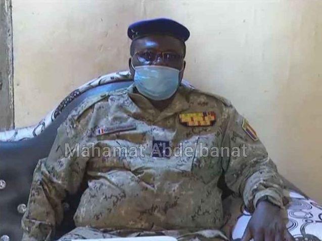 Tchad : le directeur général de la gendarmerie nationale en visite d'inspection à Am-Timan