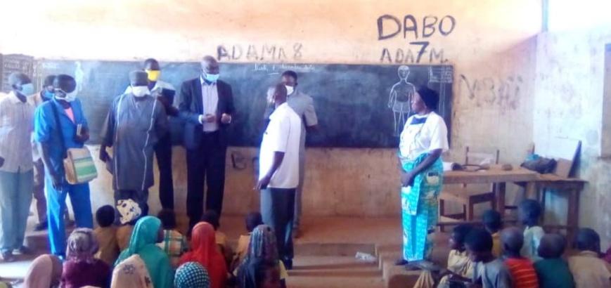 Tchad : Le recteur de l'Académie du Sud-ouest en visite de rentrée scolaire et académique