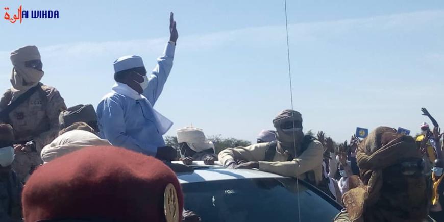 Tchad : le chef de l'État est arrivé à Mongo