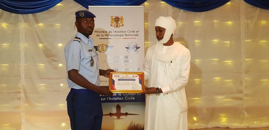 Tchad : des travailleurs du secteur aérien honorés pour leurs efforts en période de crise