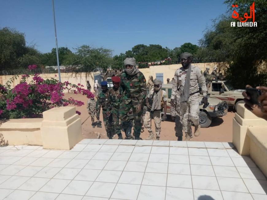 Tchad : une délégation militaire conduite par le CEMGA est au Sila