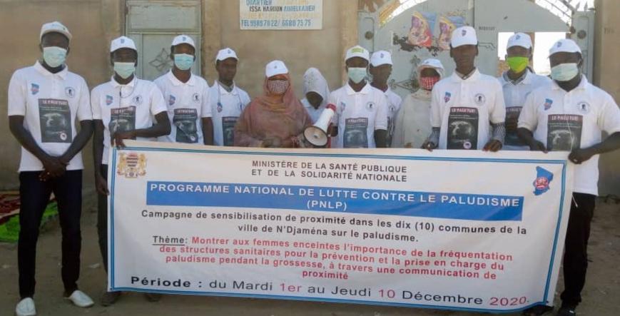 Tchad : Le PNLP poursuit sa sensibilisation dans le 10ème arrondissement de Ndjamena