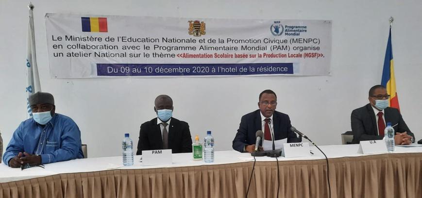 Tchad : Un atelier sur l'alimentation scolaire ouvert à Ndjamena
