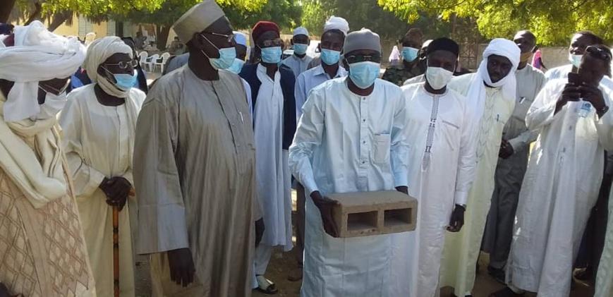 Tchad : quatre salles de classe offertes aux élèves de Koundjourou au Batha