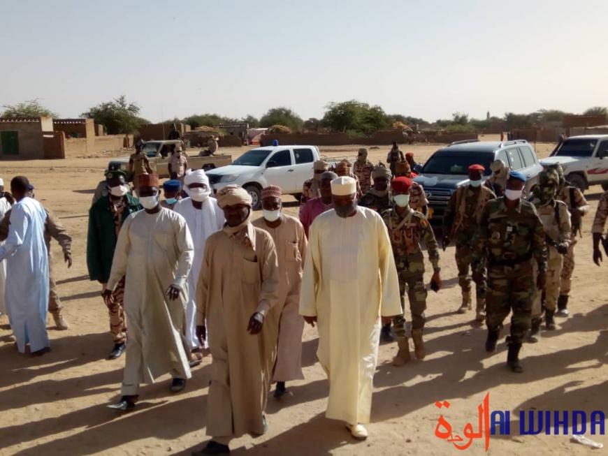 Tchad : le nouveau préfet d'Abougoudam installé au Ouaddaï