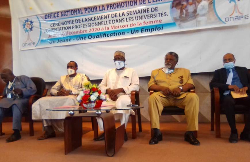 Tchad : l'ONAPE appuie l'orientation professionnelle en milieu universitaire