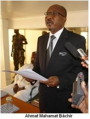Ahmat bachir, actuel ministre de l'Intérieur. Crédits photos : Alwihda