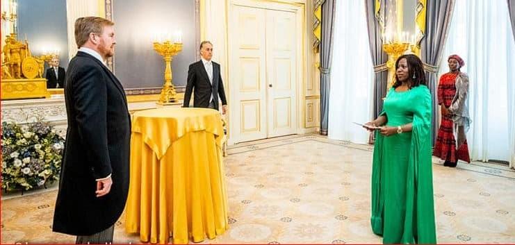 Diplomatie : L'ambassadeur du Cameroun aux Pays-Bas a présenté ses lettres de créance
