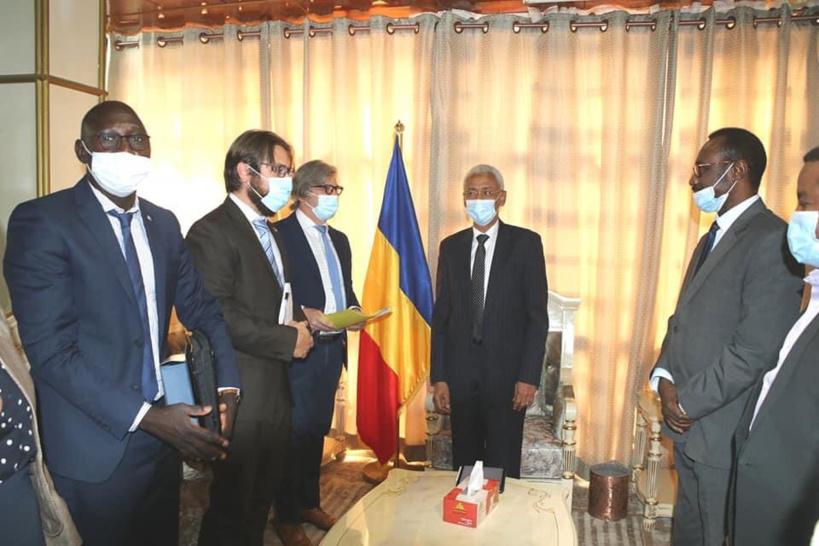 Tchad : une délégation d'Interpol reçue par le chef de la diplomatie
