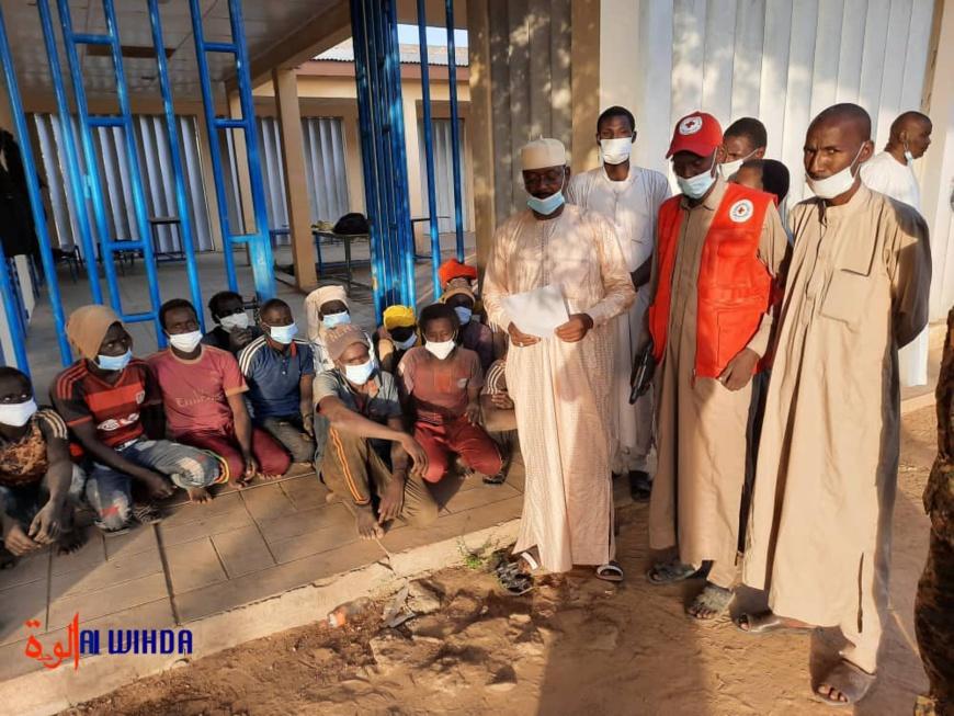 Tchad : 17 jeunes orpailleurs remis à leurs parents à Ati