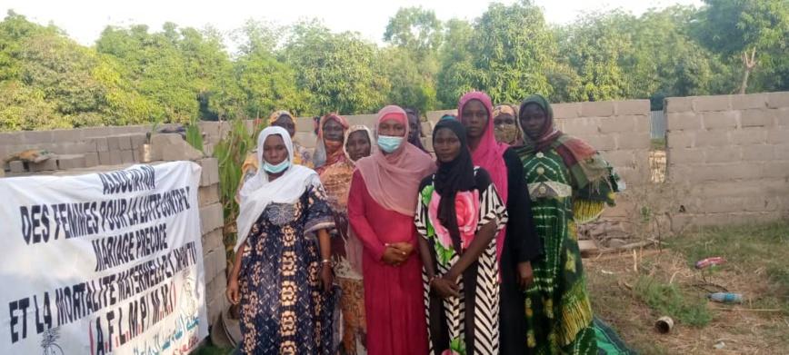 Tchad : des femmes haussent le ton contre le mariage précoce, la mortalité maternelle et infantile