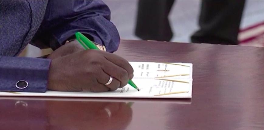 Le Maréchal du Tchad promulgue officiellement la Loi constitutionnelle
