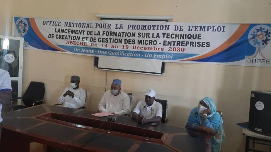 Tchad : l'ONAPE forme des demandeurs d'emploi à Abéché