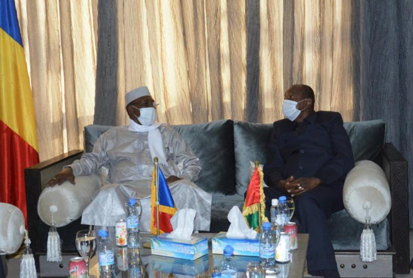 Le président tchadien en Guinée pour l'investiture d'Alpha Condé