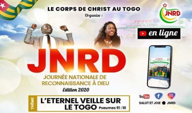 Togo : Les fidèles chrétiens rendent grâce à Dieu pour 2020