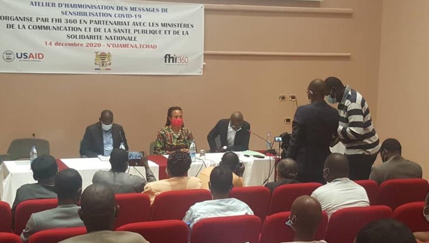 Tchad : L'USAID organise un atelier sur les messages de sensibilisation sur la Covid-19