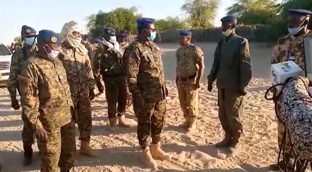Tchad : le DG de la Gendarmerie nationale en mission d'inspection à Bol