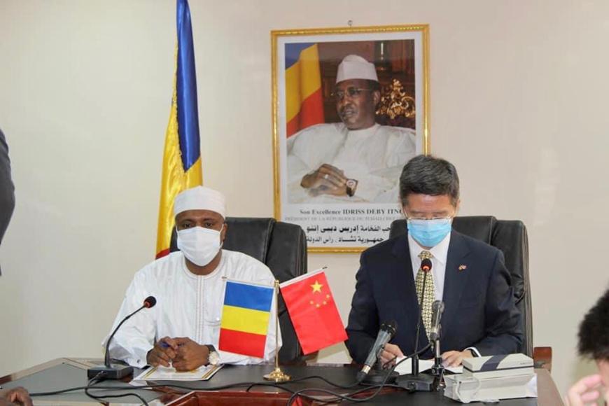 N'Djamena : le centre d'ophtalmologie de l'hôpital d'Amitié Tchad-Chine va être renforcé