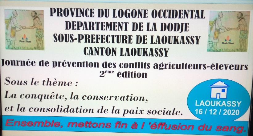 Tchad : une journée de prévention des conflits agriculteurs-éleveurs à Laoukassy