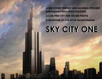 La plus haute tour du monde en 3 mois de construction ?