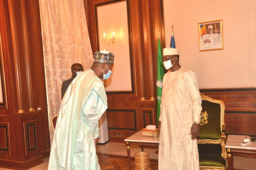 Tchad : le gouverneur nigérian de l'Etat de Borno reçu à la Présidence