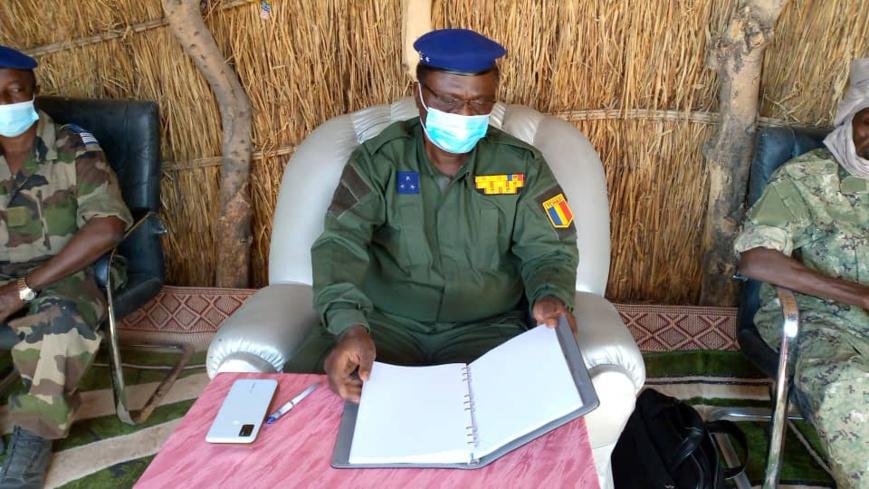 Tchad : Le directeur général de la gendarmerie nationale en mission d'inspection à Mao