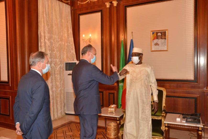 مشير تشاد يستقبل السفير البريطاني ومبعوث فرنسا لدى مجموعة الساحل