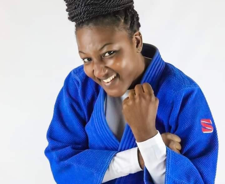 Judo : Carine Ngarlemdana remporte la médaille de bronze au Championnat d'Afrique