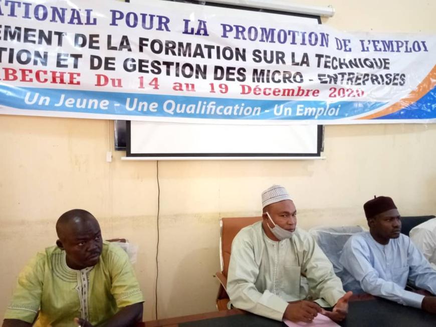 Tchad : l'ONAPE initie les jeunes à la création et la gestion des micro-entreprises