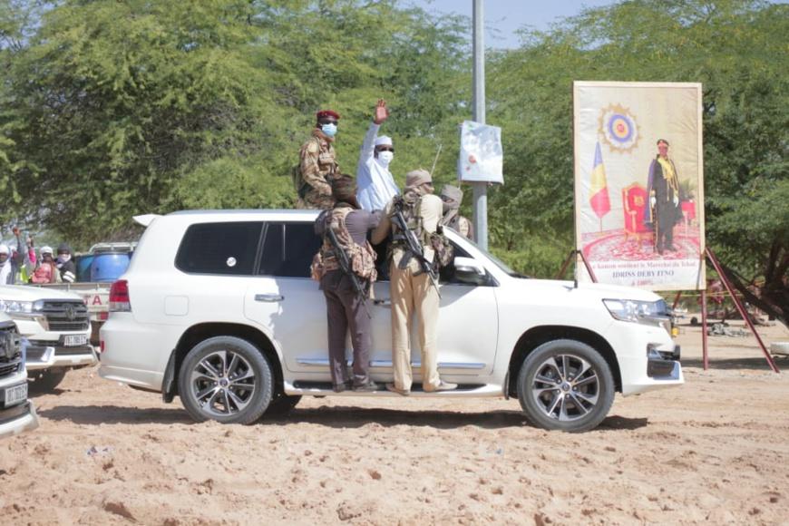 Tchad : des chameaux offerts au chef de l'État à Mao