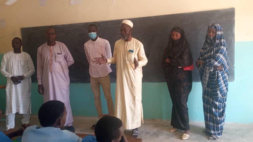 Tchad : les élèves s'approprient les valeurs de non-violence à Goz Beida