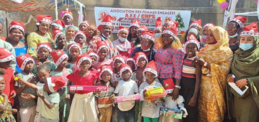 Tchad : des enfants orphelins et vulnérables reçoivent des cadeaux pour Noël