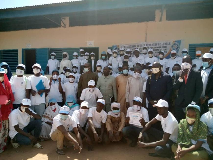 Tchad : l'ONAPE forme 60 jeunes en gestion de micro-projets au Sila