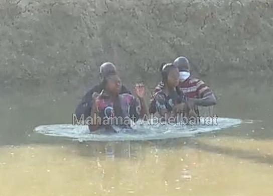 Tchad : Baptême de 8 fidèles de l'Entente des Églises et Missions Catholiques à Am-Timan