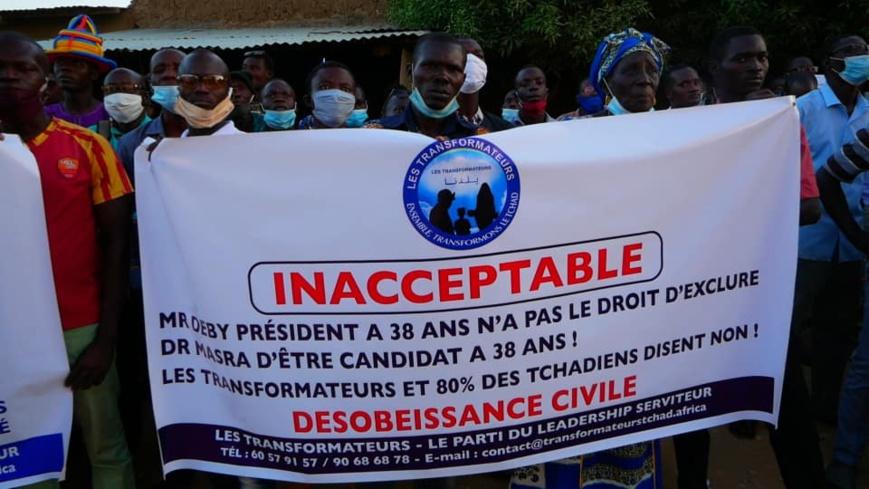 Tchad : Les Transformateurs annoncent le maintien de la marche pour la justice