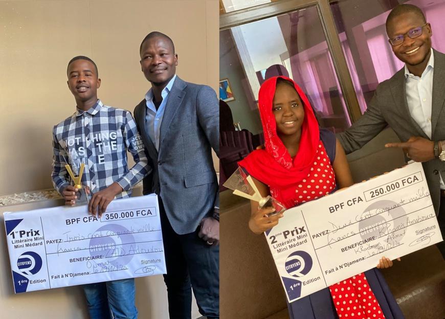 Tchad : les jeunes lauréats du Prix littéraire Mini-Mini Médard distingués