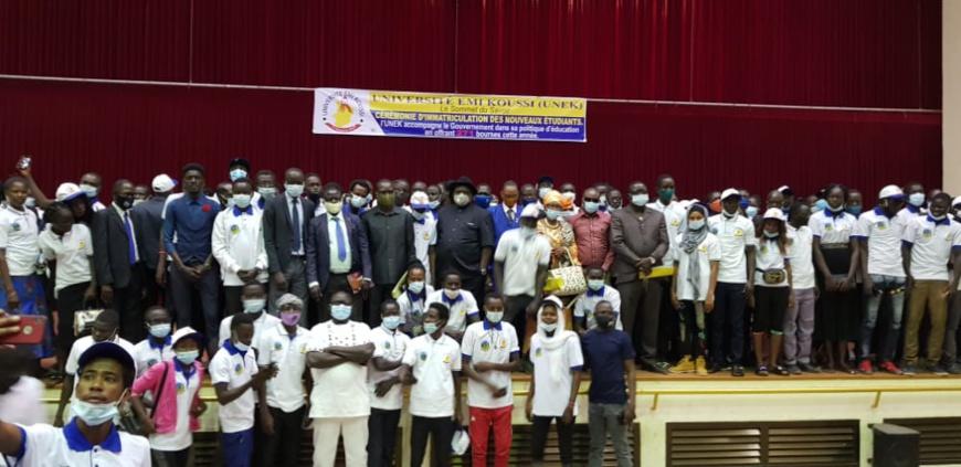 Tchad : l'Université Émi Koussi accueille 1086 nouveaux étudiants à N'Djamena