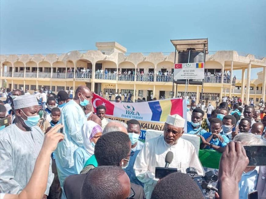 Tchad : Des châteaux d'eau inaugurés dans des établissements de Ndjamena