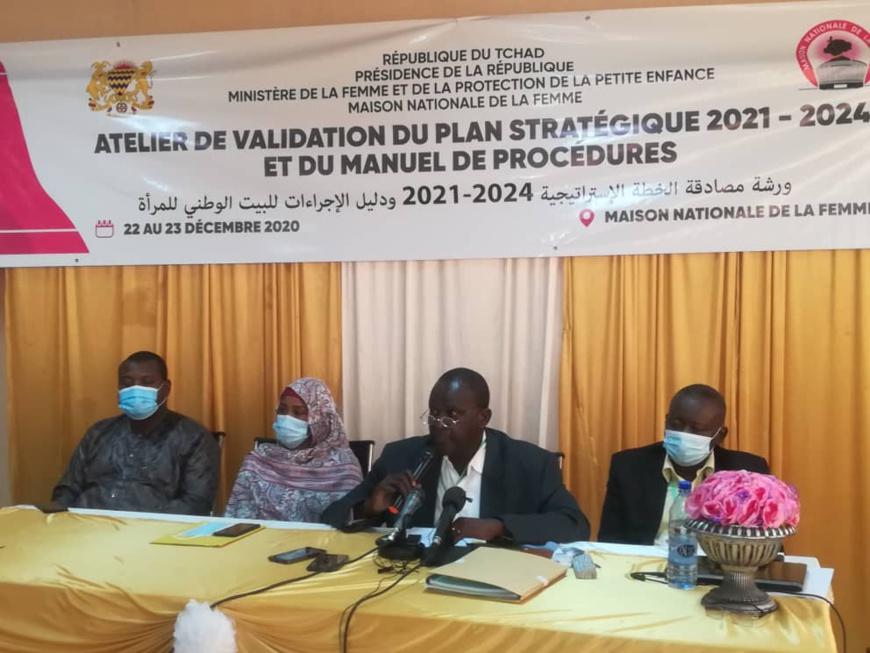 Tchad : le plan stratégique et le manuel de procédures de la Maison de la femme validés