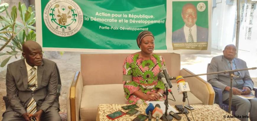 Tchad : Alixe Ndolénodji Naimbaye défend le renouvellement du bureau exécutif de l'ARD